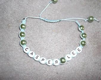Caspar Lee inspired shamballa style bracelet
