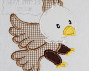 Eagle Machine Embroidery Applique Design