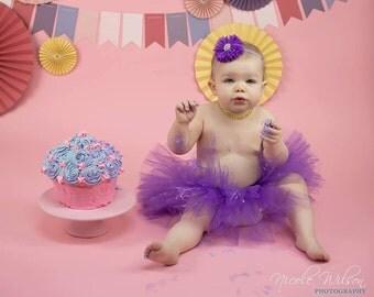 Purple Tutu - Princess Tutu - Newborn Tutu - Toddler Tutu - Birthday Tutu
