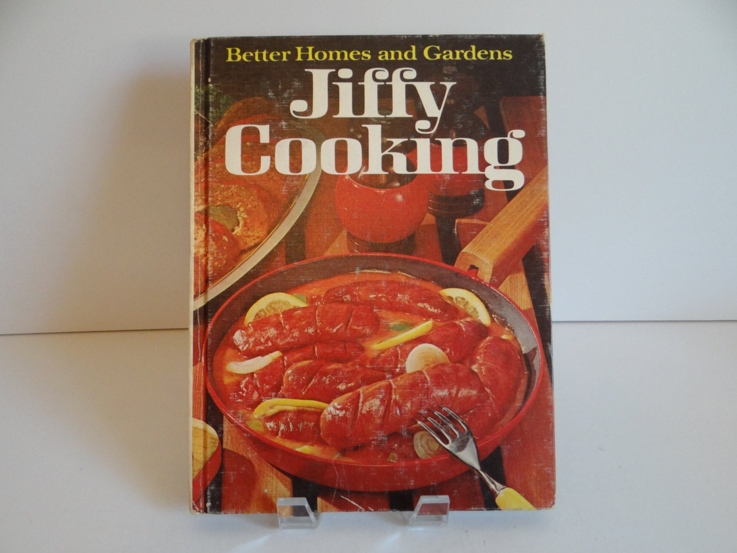 1967 Better Homes And Gardens Jiffy Cooking Cookbook Family