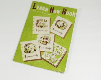Vintage 'Learn How Book'