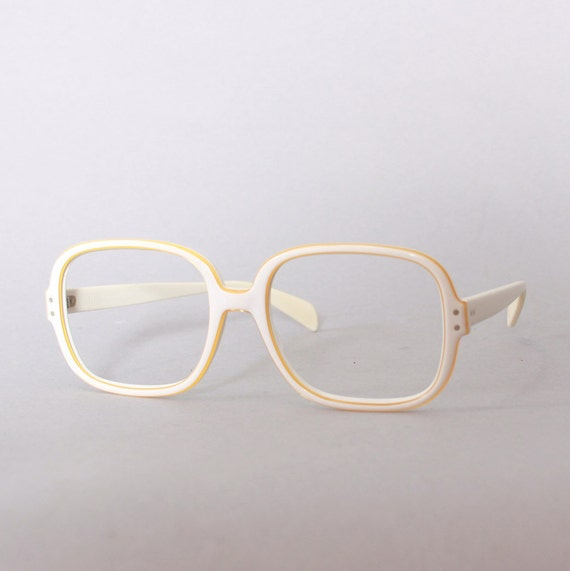 60s RAY-BAN White Chandra FRAMES / 1960s Mens by ...