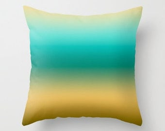 Colorful Beach Throw Pillows Modern Minimalist Sunset Decor Pillow cover Cushion covers Pillow case Accent pillow Couch pillow Decore pillow