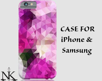 iPhone 6 Case iPhone 5 Case Abstract iPhone 5C Case Geometric iPhone Case iPhone 5s Case iPhone 4 iPhone 4s Case Lilac Floral iPhone 6 Cases