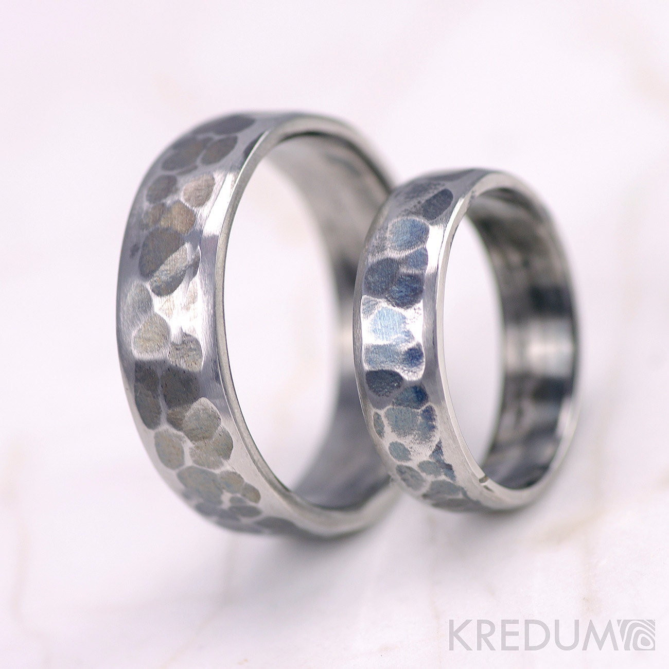 Man S Hand Bands: Unique Wedding Ring For Men And Women Hand Forged By KREDUM