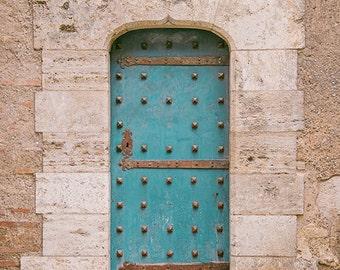 Valencia Door Old City Spain
