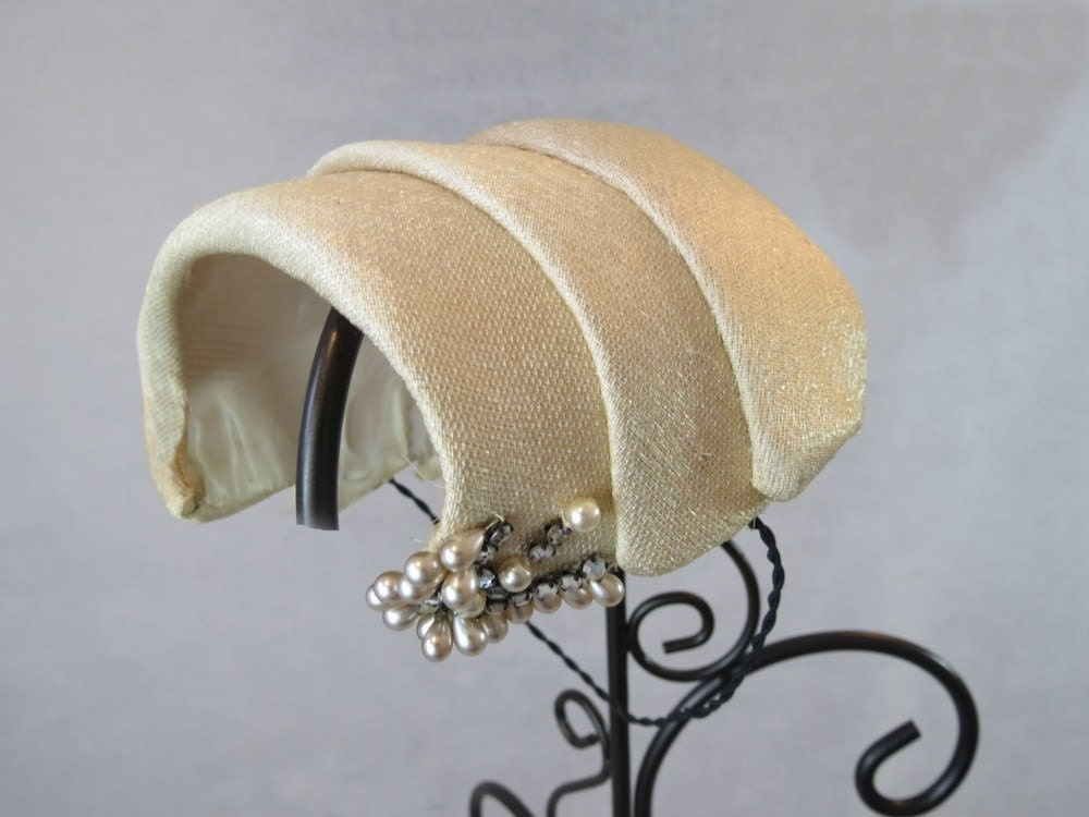1950s cocktail hat
