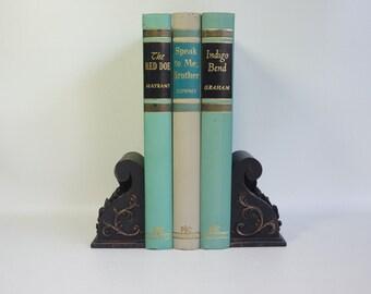 Mid-Century Romance Novels - Nice Colors - Book Photo Prop - Home Decor
