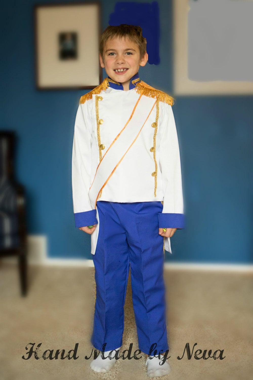 Prince Eric Wedding Costume Toddler Boy Birthday Washable