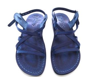 Leather Sandals Men Women, Men's Women's Shoes, LONDON, Flip Flops, Biblical Sandals, Jesus Sandals Active