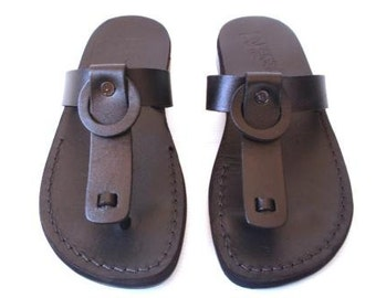 Leather Sandals, Leather Sandals Women, Sandals, Women's Shoes, NATALY, Flip Flops, Biblical Sandals, Jesus Sandals