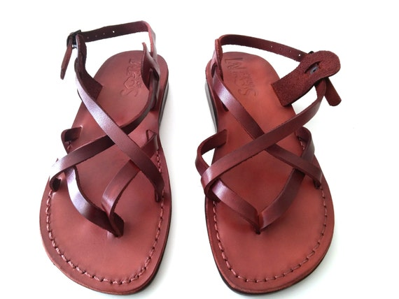 Lastest Womens Navy Leather Jesus Summer Sandals Shoes | EBay