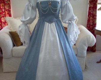 Renaissance Wedding Dress Also Available In Sage Green And Wine Jewelry Not Included
