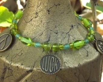 Green Lucky Bracelet