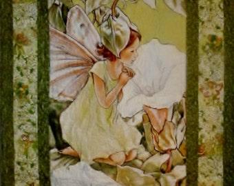 Green Apple Fairy Quilt
