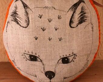 Fox Head Doorstop