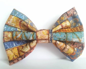 INSPIRATION Themed Fabric Hair Bow