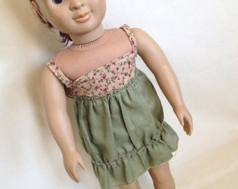 Peasant Dress for 18 Inch Doll