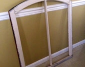 1880's Arc Window Frame
