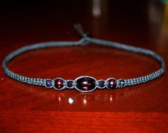 Dark Purple Choker Black Choker Necklace Purple Necklace Womens Choker Necklace for Her Gifts for Teen Girl Gifts Goth Choker Goth Necklace