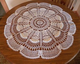 ANDROMEDA  handmade crochet runners/doilies