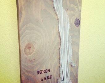 Torch Lake 10 x15