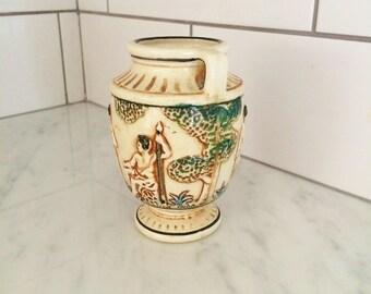 Vintage Greek Urn Made in Japan Greek Mythology Decor Classical Greece Vase Decor