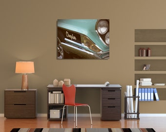 1962 Chrysler Newport - Original Fine Art Gallery Wrapped Canvas (vintage, retro, classic cars, masculine, automobile, antique)