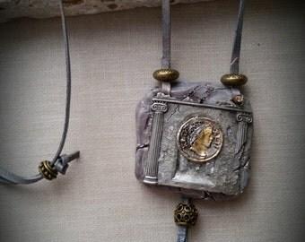 XLII BC Roman pendant