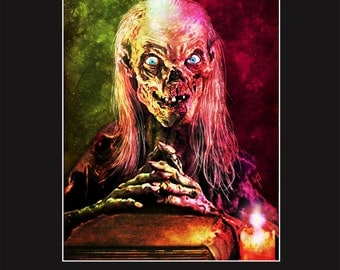 John Kassir is The Cryptkeeper in Tales from the Crypt - 11X14 Signed Print