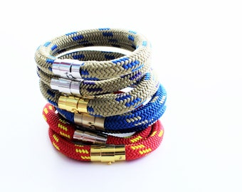 Stackable Marine Cord Bracelet