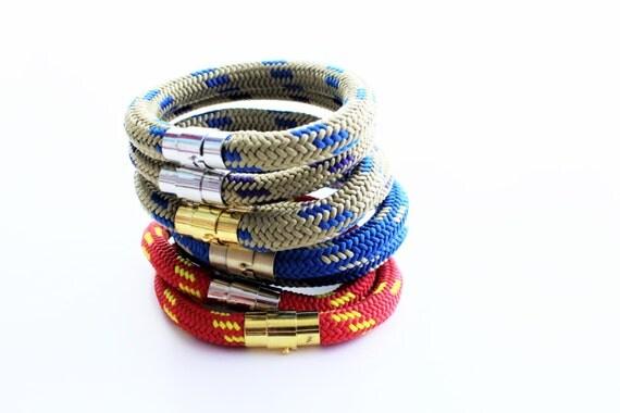 Stackable Marine Cord Bracelet