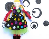 Fashion Doll Clothes - Party Dress, Petticoat, Accessories - PDF Digital Sewing Pattern