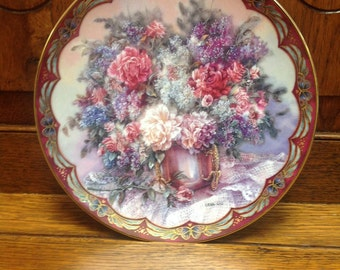 Vintage Lena Liu Flower Fairies Plate