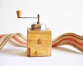 Vintage Bielsko Coffee Grinder - Made in Polland - Coffee Mill - Rustic Kitchen