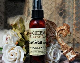 WARM VANILLA NUTMEG- Moisturizing Body Spray - 2 Ounces - Hair & Body Spray