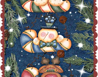 CC169 - Jingle Canes Painting E Pattern by Cyndi Combs