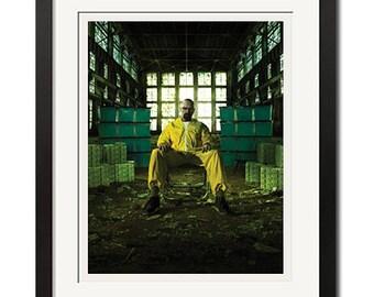Breaking Bad All Hail the King Walter White Urban Poster Print