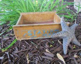 Vintage Wood Box/Crate Station Wagon