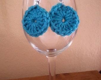 Circle Crochet Earrings