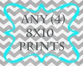 Any (4) 8x10 Prints - ANY prints from Rizzle and Rugee