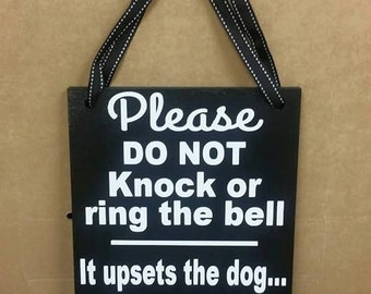 Please Do Not Knock or Ring the Bell, No Soliciting Sign, Sleeping Baby Sign, Baby Shower Gift, wood sign, porch decor, Funny no soliciting