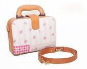 Small Brown Leather Handbag, Leather Purse, Leather Briefcase, Crossbody Bag, Messenger Bag, Brown Purse, Leather Satchel, Travel Bag