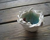 Sea Monster Vessel - Ceramics and Pottery - Reed Diffuser - Outdoor Decor - Patio Decorations - Small Ceramic Vessel