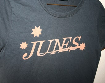 Every day's great at your Junes!! - Persona Inspired Handmade Bleached Shirt
