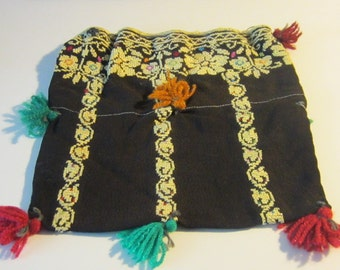 Vintage Embroidered Palestinian Small Bag