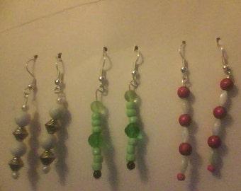 Earrings kit, makes 3 pairs