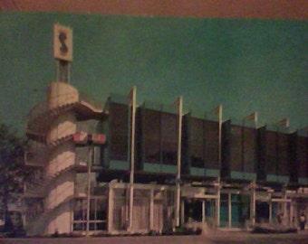 1964-65 New York Worlds Fair Post Card,unu