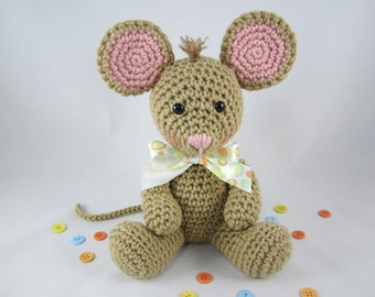 Crochet Mouse, Stuffed Mouse, Amigurumi Mouse, Toy Mouse, Mouse Plush by CROriginals