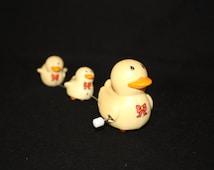 Vintage Wind Up Toy Ducks